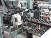 Extrusion aluminium machine — Fotografia Stock