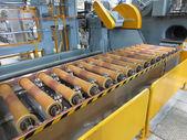 Nastro trasportatore per il trasporto dell'impianto. — Foto Stock