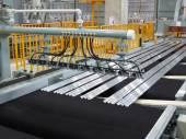 Cutting aluminum lines. — Stock Photo