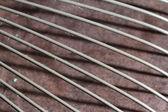 Steel fan cover — Stockfoto