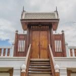 House door wood thai style — Stock Photo #59419201