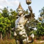 BANGKOK - DECEMBER 6: art exhibit his Kho Yai art  Museum in Ban — Stock Photo #60494143