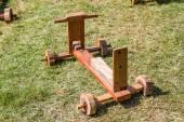 деревянные игрушки таиланд — Стоковое фото