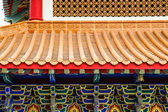 Traditional Chinese style temple at Wat Leng-Noei-Yi in Nonthabu — Stock Photo