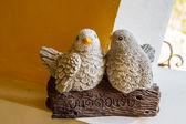 Statues two birds — Φωτογραφία Αρχείου