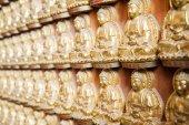 Buddha statues Wat Borom Racha Kanchana Phisake (Wat Leng Noei Yi 2) — Stock Photo