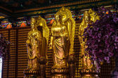 Buddha statues Wat Borom Racha Kanchana Phisake (Wat Leng Noei Yi 2) — Zdjęcie stockowe