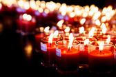Several candles — Stock Photo