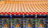 ワット leng-noei - 李 nonthabu で伝統的な中国様式の寺院 — ストック写真