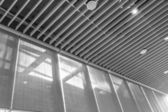 Black and white of Modern building  — Stock Photo