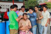 Bangkok March 1: a series of initiation rites that have changed  — 图库照片
