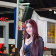 Постер, плакат: Bangkok Thailand April 4 2015: Gopro booth Presenter demons