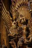 Nakhon Pathom, Thailand - May 1, 2015: Garuda statue of the Hindu. Woodland Museum In Nakhon Pathom, Thailand — Stock Photo