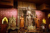 仏陀木彫り — ストック写真