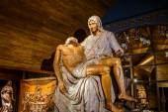 Jesus Wood Carving — Stock Photo
