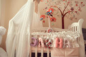 Children's bed — Foto de Stock