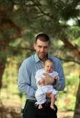 Father with child — Stock Photo