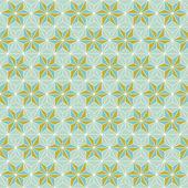 Abstracte naadloze geometrische patroon — Stockvector