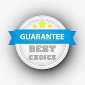 Guarantee stamp — Stock Photo
