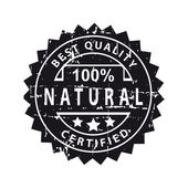 Best quality grunge label  — Stock Vector
