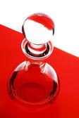Glazen fles — Stockfoto
