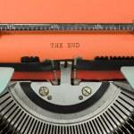 Vintage Typewriter — Stock Photo #80410152