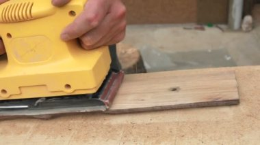 Electrical Sander — Stock Video