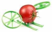 Tomato Hovercraft — Stockfoto