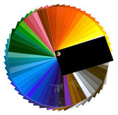 Color Swatch Cutout — Stockfoto
