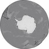 Guilloche Earth — Stock Vector