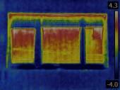 Heat Loss Detection — Stock Photo
