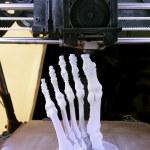 Foot Bones Printing — Stock Photo #67007679