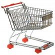 Shopping Trolley Cutout — Stock Photo #67009361