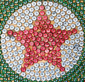 Signburi, Thailand - October 19, 2014: Art of star group of bott — Stock Photo