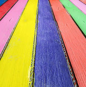 Colorful of wood — Stock Photo