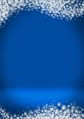 Happy Holidays Blank Winter Background — Stock Photo