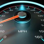 Speedometer MPH Slow — Stock Photo #53599591