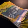 Australian Dollar Bank Notes Spread — Stock Photo #57045343