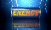 Energy Drink Can — Stock Photo