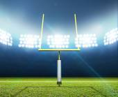Football Stadium Night — Stock Photo