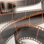 Film Strip Curled — Stock Photo #76949447