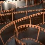 Film Strip Curled — Stock Photo #76949003