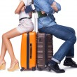 Young couple is ready to travel — Stock Photo #60197147