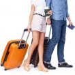 Leaving couple of tourist — Stock Photo #60197149