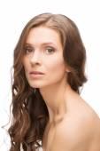 Healthy glowing skin Caucasian woman — Stock Photo