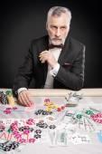 Koncept pro hru poker a hazard — Stock fotografie