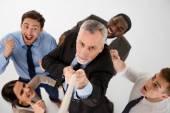 Concepto de equipo de negocios multiétnica — Foto de Stock