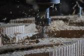 Woodworking milling machine — Stock Photo