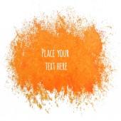 Watercolor element for design. — Stock Vector