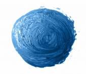 Blue brush strokes -  backdrop for your text — Vetor de Stock
